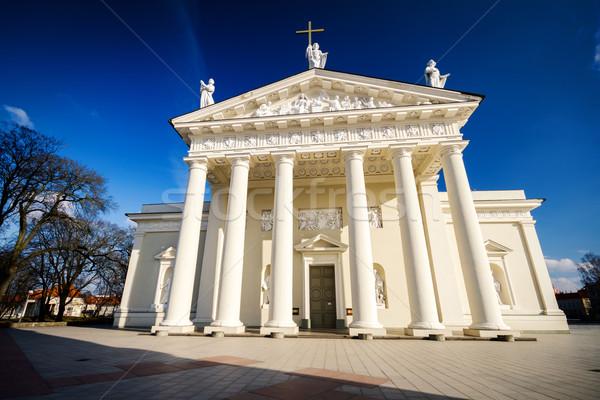 大聖堂 ヴィルニアス メイン カトリック教徒 教会 リトアニア ストックフォト © Taigi