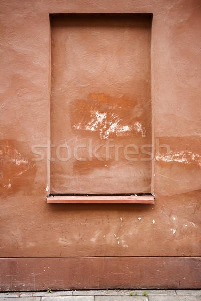 Dettaglio architettonico dettaglio vecchio cemento muro texture Foto d'archivio © Taigi