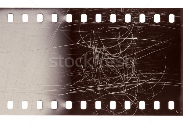 Velho grunge filmstrip roxo barulhento film strip Foto stock © Taigi