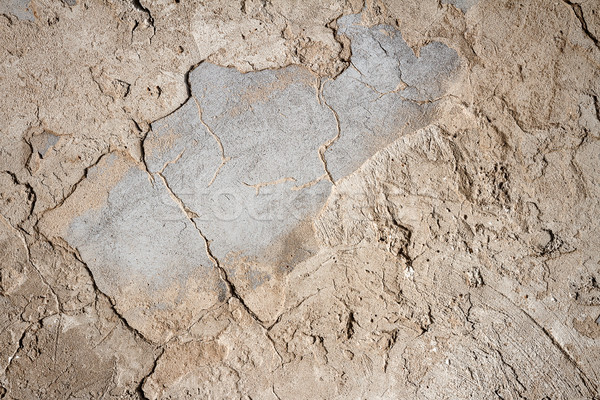 Old concrete and plaster wall Stock photo © Taigi