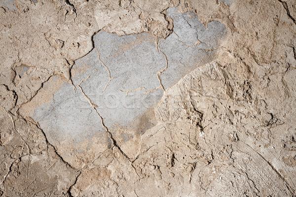 öreg beton tapasz fal textúra városi Stock fotó © Taigi