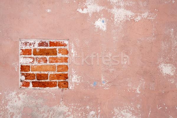 Edad cemento pared textura detalle agrietado Foto stock © Taigi