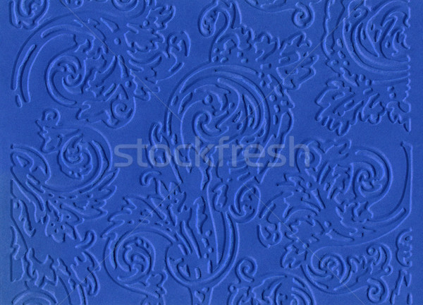 Blue embossed paper Stock photo © Taigi