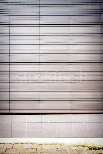 Modern wall Stock photo © Taigi