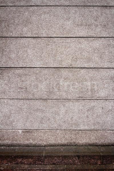 Strada muro intemperie intonaco pietra Foto d'archivio © Taigi