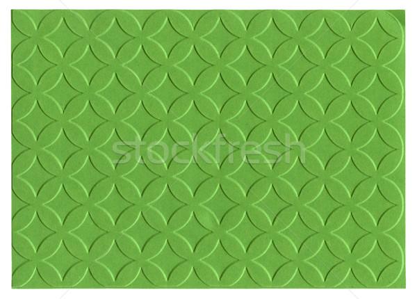 Green embossed paper Stock photo © Taigi