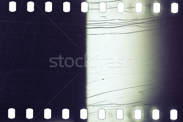 Vecchio grunge filmstrip rumoroso film strip texture Foto d'archivio © Taigi