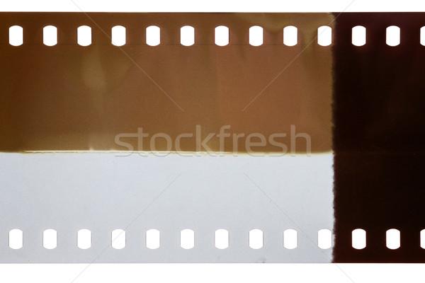 Eski grunge filmstrip film şeridi doku Stok fotoğraf © Taigi