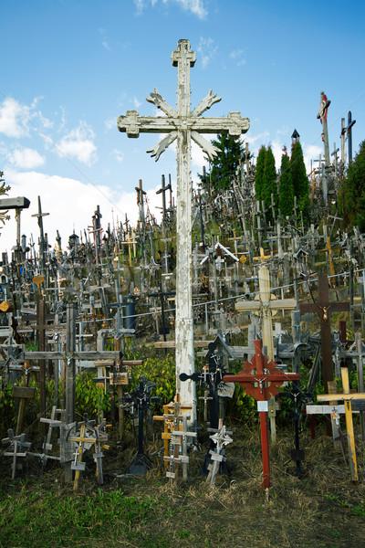 холме крестов известный паломничество Сток-фото © Taigi
