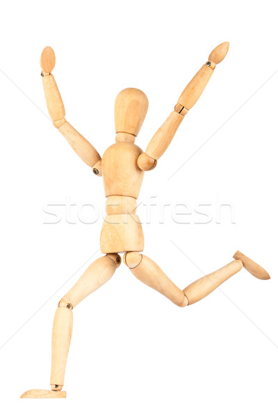 Wooden dummy Stock photo © Taigi