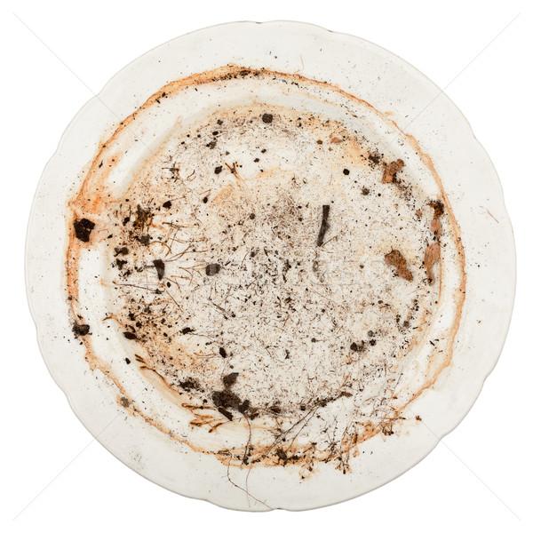 Dirty plate Stock photo © Taigi
