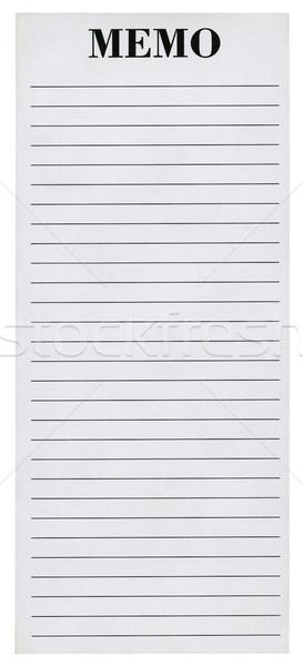 Lined paper Stock photo © Taigi