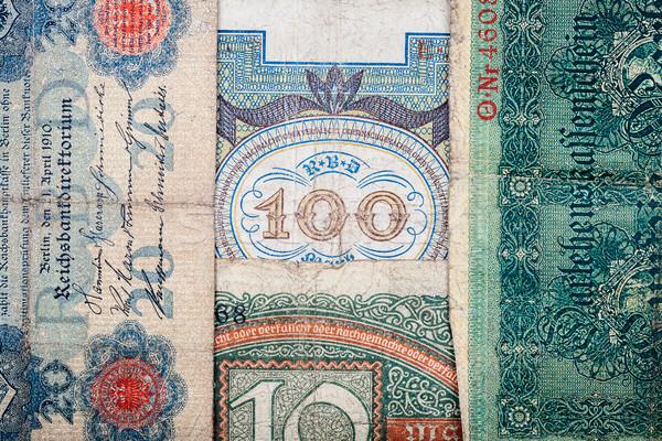 Old german money Stock photo © Taigi