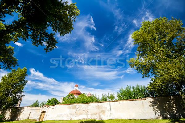 Blue sky with clouds Stock photo © Taigi