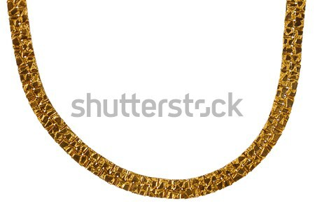 Old massive gold chain Stock photo © Taigi