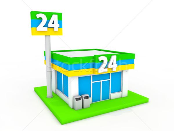 利便性 ストア モデル 背景 ショッピング ショップ ストックフォト © taiyaki999