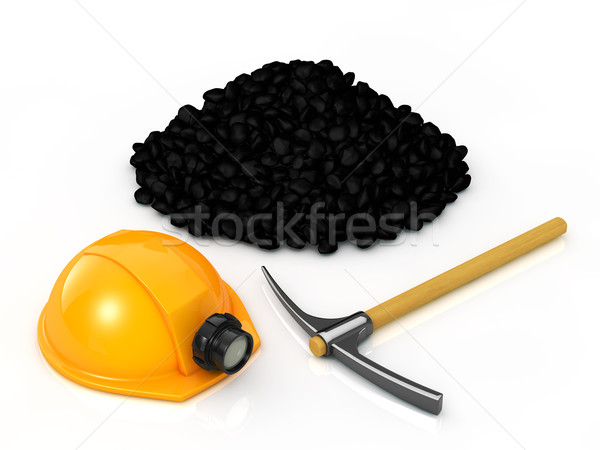 Mining equipment and coal Stock photo © taiyaki999