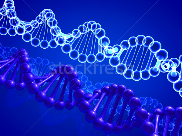 DNA鑑定を モデル 健康 背景 薬 科学 ストックフォト © taiyaki999