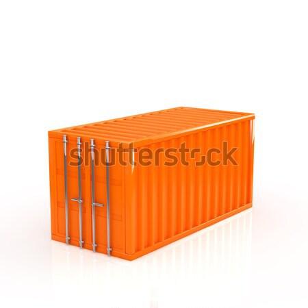 コンテナ 金属 ボックス 産業 倉庫 輸送 ストックフォト © taiyaki999