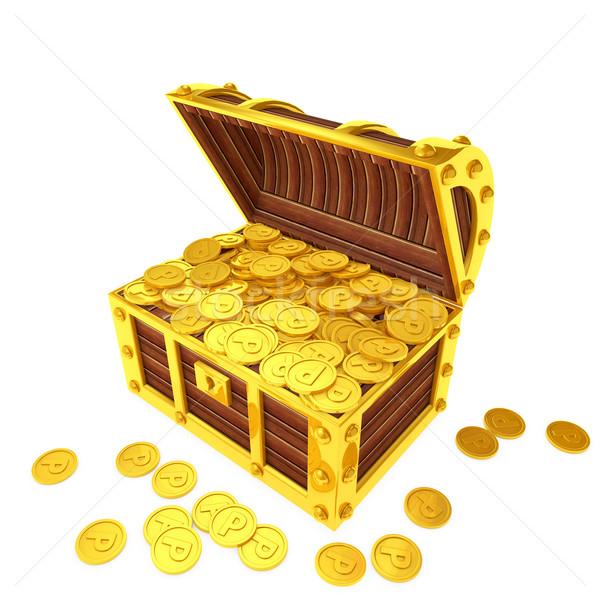 точки монетами счастливым торговых знак Сток-фото © taiyaki999
