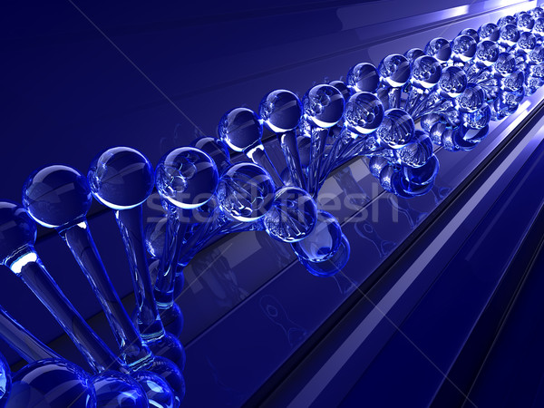 ДНК модель здоровья фон медицина науки Сток-фото © taiyaki999