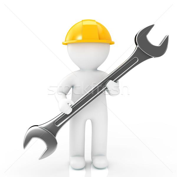 мужчин работник службе инструментом механиком Сток-фото © taiyaki999