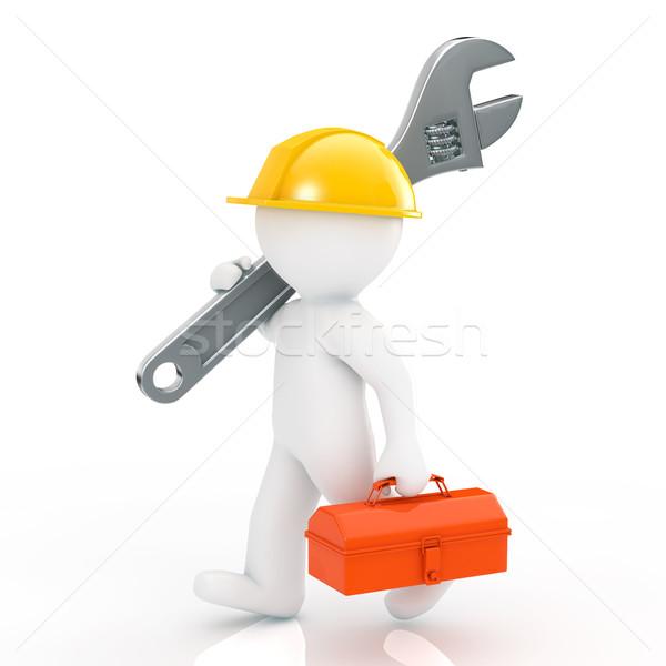 男 建設 業界 作業 ワーカー ストックフォト © taiyaki999