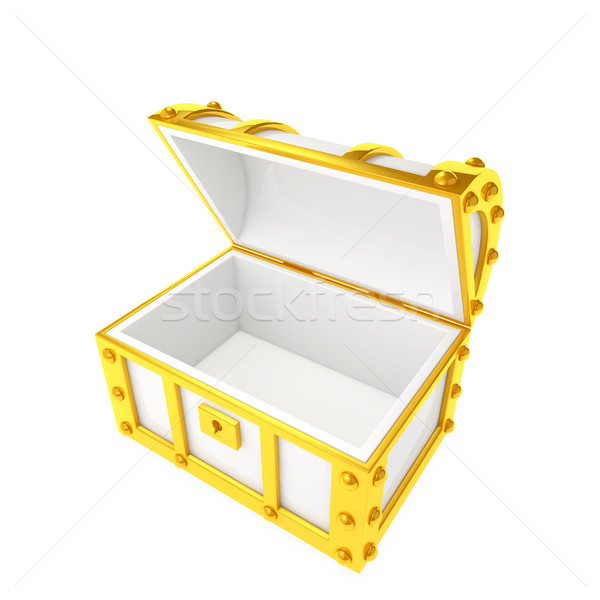 treasure box Stock photo © taiyaki999