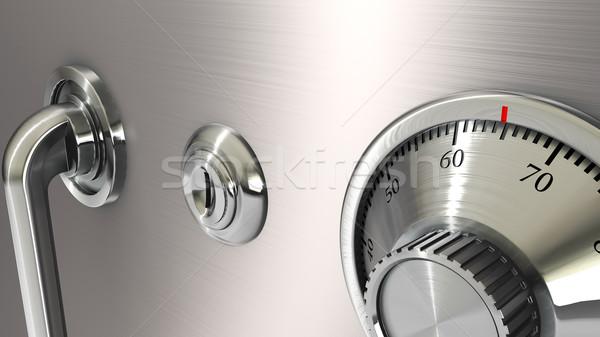 安全 ロック ビジネス ドア 金属 銀行 ストックフォト © taiyaki999