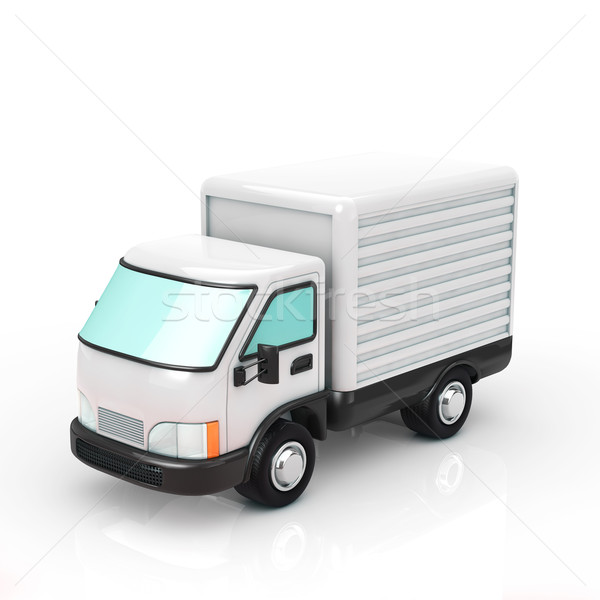 truck Stock photo © taiyaki999