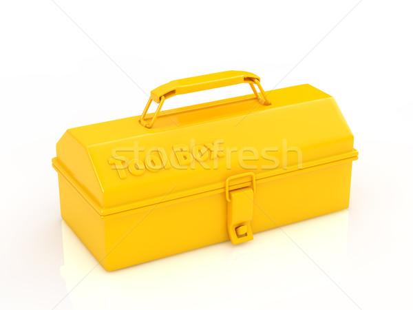 ツールボックス 黄色 作業 金属 産業 ストックフォト © taiyaki999