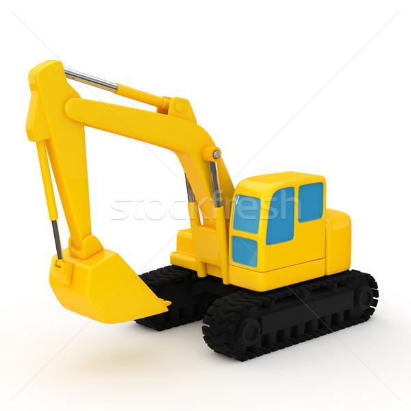 油圧 シャベル 画像 建設 機械 背景 ストックフォト © taiyaki999