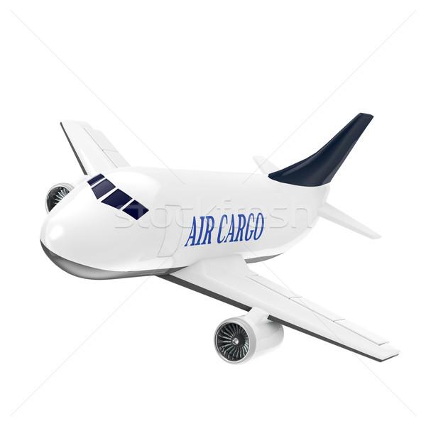 Carga jato avião indústria avião máquina Foto stock © taiyaki999