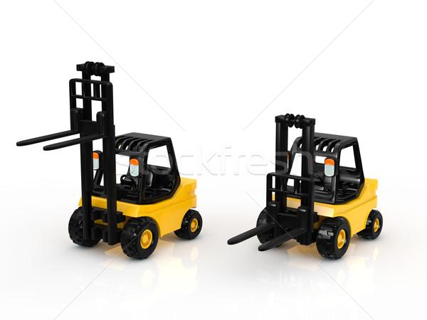 フォークリフト ビジネス 作業 金属 トラック 業界 ストックフォト © taiyaki999
