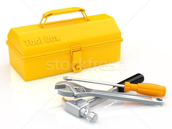 ツールボックス ツール ボックス サービス 修復 技術 ストックフォト © taiyaki999
