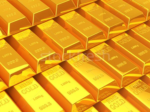 золото баров Бар Финансы банка финансовых Сток-фото © taiyaki999