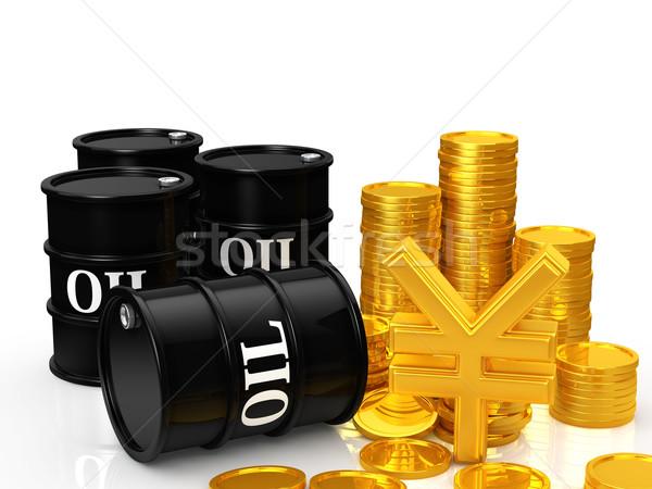 油 お金 背景 業界 エネルギー 金 ストックフォト © taiyaki999