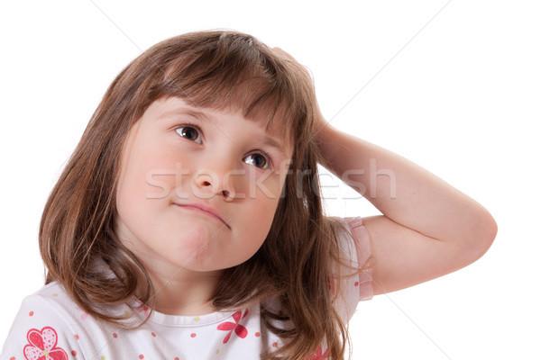 девочку Cute глядя весело молодые Сток-фото © Talanis
