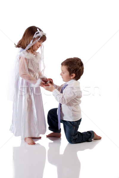 Too young to marry Stock photo © Talanis
