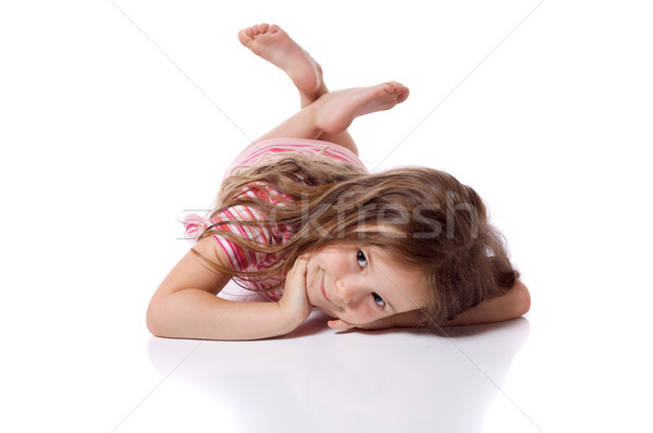 Cute little girl Stock photo © Talanis