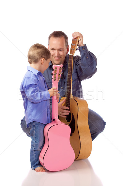 Father and son Stock photo © Talanis