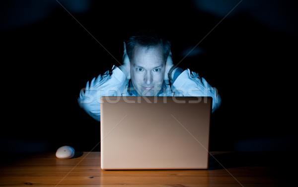 Computer guy Stock photo © Talanis