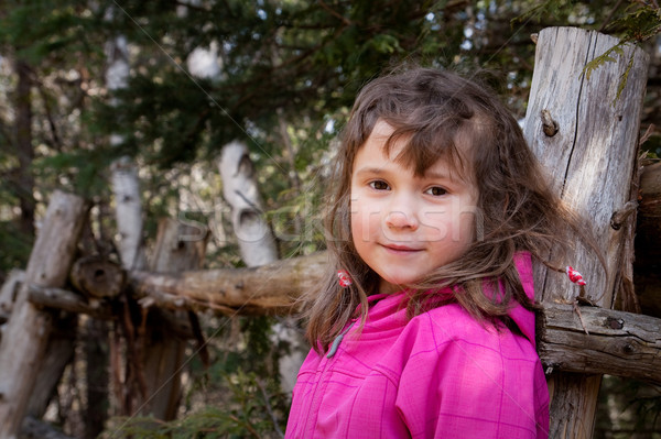 Little girl hiking Stock photo © Talanis