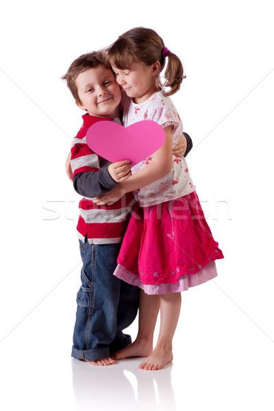 детей Cute мало Сток-фото © Talanis
