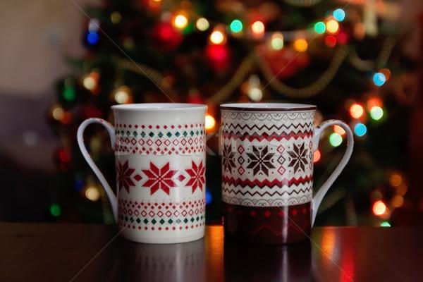 ストックフォト: 休日 · クリスマス · 冬 · 食品 · ドリンク