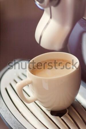 白 カップ 立って コーヒー ストックフォト © TanaCh