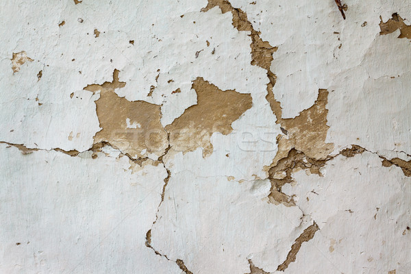 Colored wood background with peeling old paint Stock photo © TanaCh
