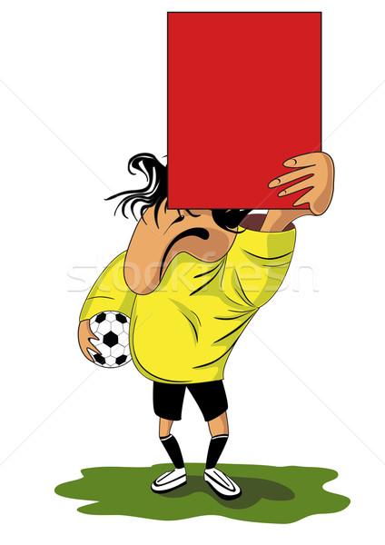 Fanny referee Stock photo © tanais