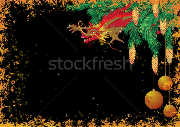 New Year 2012 background Stock photo © tanais