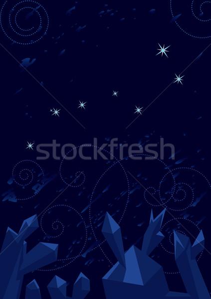 Big Dipper (Ursa Major) Stock photo © tanais